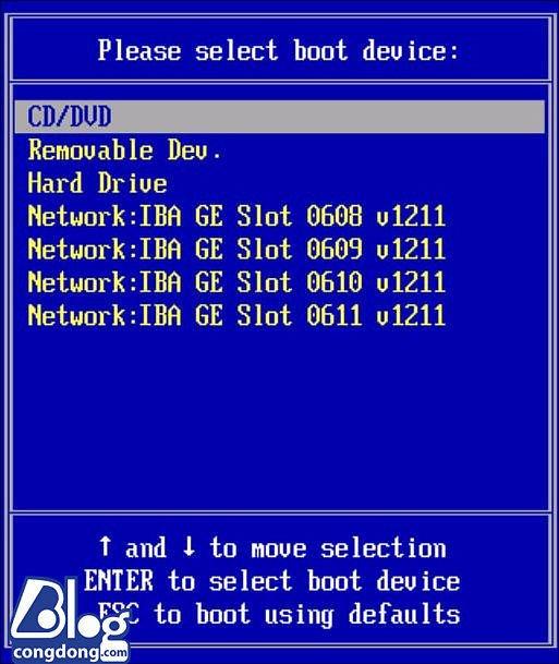 Phím tắt vào Bios và Boot của máy laptop Asus, Dell, Vaio, HP,