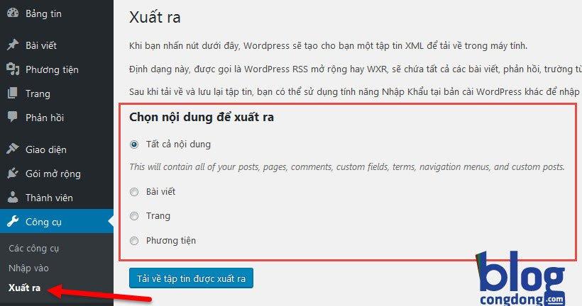 huong-dan-xuat-nhap-import-export-cac-du-lieu-trong-wordpress-1