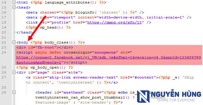 insert-code-nut-like-facebook-enter-the-body
